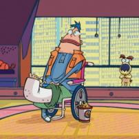 Bernie en fauteuil roulant