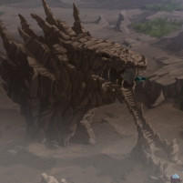 Dinofroz - La base secrète