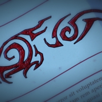 Dinofroz -Neceron et le symbole de la destinée