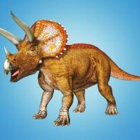 Tricératops  Dinosaure de Dinosaur King