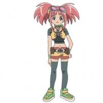 Zoé est aussi membre de la D-TEAM dans Dinosaur King