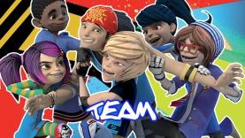 La team de Foot2Rue Extrême