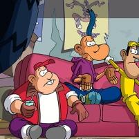 Franky, Ben et Zack vont devoir s'affronter dans un concours de freestyle.