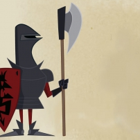 Gawayn - les gardes du palais