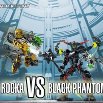 Fond d'écran Rocka vs. Black Phantom