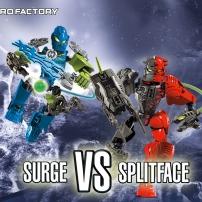 Surge vs. Splittface