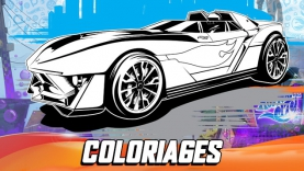 les coloriages de hot wheels