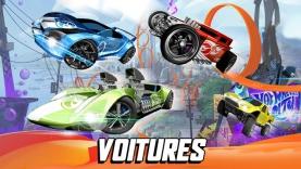 les voitures de hot wheels