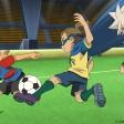 Inazuma Eleven - Jude en pleine action