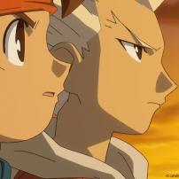 Inazuma Eleven - Mark et Axel