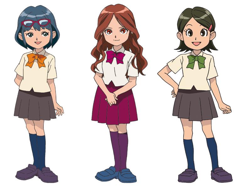 Les filles personnages inazuma eleven dessins anim s - Coloriage personnage fille ...