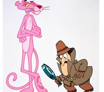 Avec l 39 inspecteur images la panth re rose dessins - La panthere rose en dessin anime ...