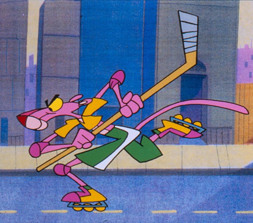 En roller images la panth re rose dessins anim s mes h ros gulli - Dessin anime de la panthere rose et ses amis ...