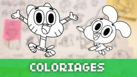 Les Coloriages de Gumball