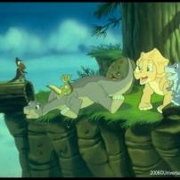 de grands voyages, le petit dinosaure