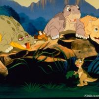 une belle famille le petit dinosaure