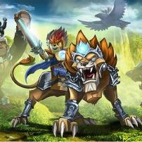 Lego Chima - Laval et le lion légendaire