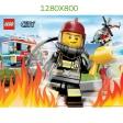 Fond d'Ecran Les Pompiers 1280x800