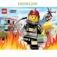 Fond d'Ecran Les Pompiers 1920x1200