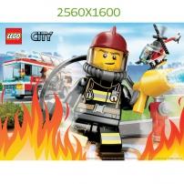 Fond d'Ecran Les Pompiers 2560x1600