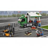 LEGO City : l'aéroport, le camion de marchandises