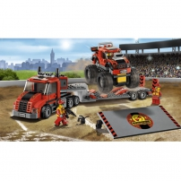 LEGO City : super véhicule - le camion de transport du Monster Truck