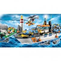 LEGO City :les gardes-côtes - la patrouille
