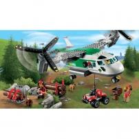 LEGO City : l'aéroport, l'avion cargo