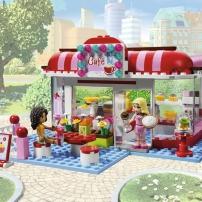 Le café, LEGO Friends