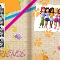 Les 5 copines, LEGO Friends