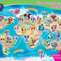 Poster : Voyage tout autour du monde avec Petshop !