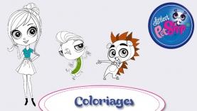 Coloriages Littlest Petshop sur gulli.fr