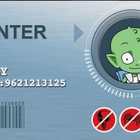 Martin Mystère - Badge de Billy