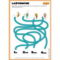 Le labyrinthe Maya l'Abeille