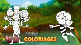 Les coloriages de Maya l'Abeille sur gulli.fr