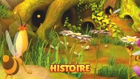 Histoire de Maya l'Abeille sur Gulli