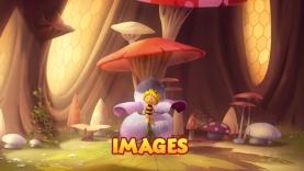 Images du dessin animé Maya l'Abeille