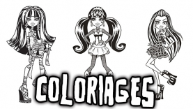 Les Coloriages de Monster High sur gulli.fr