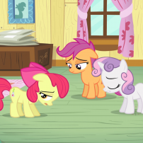my little poney - apple bloom