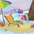 Tank et rainbow dash