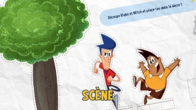 scène objectif blake