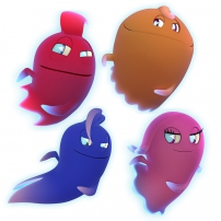 Inky, Pinky, Blinky et Clyde