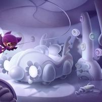Percy et ses amis - chambre de Flap-Flap à Flapville