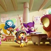 Percy et ses amis - salle de classe