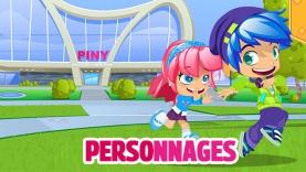 Les personnages de PINY