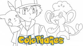 Coloriages Pokémon sur gulli.fr