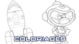 Les Coloriages de P'tit Cosmonaute