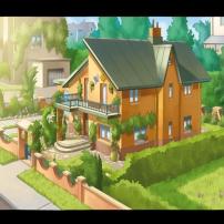 Une maison de la ville
