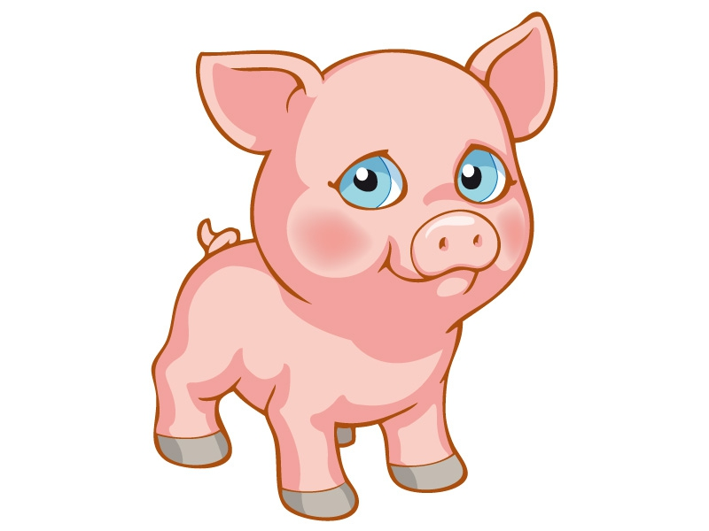 Free coloring pages of puppy in my pocket - Photo de cochon a imprimer ...