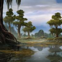 Dans les bayous - Décors Redakai